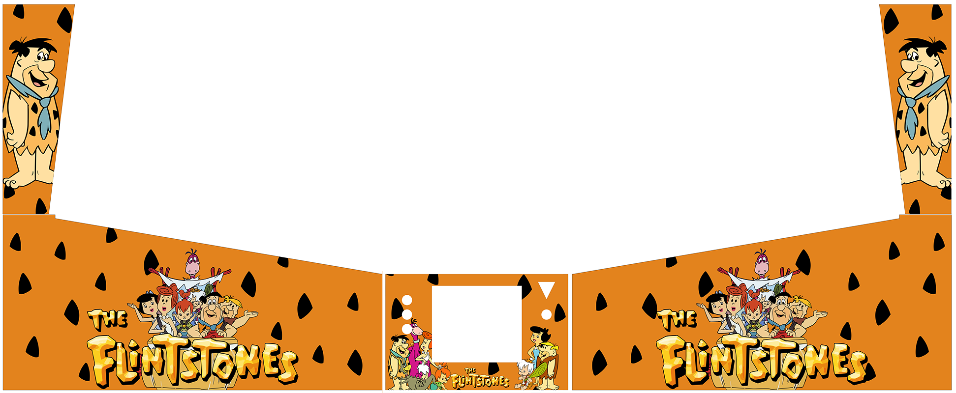 Flintstones Backgrounds Png - Cabinet Artwork I have created - Page 21 - Virtual Pinball ...