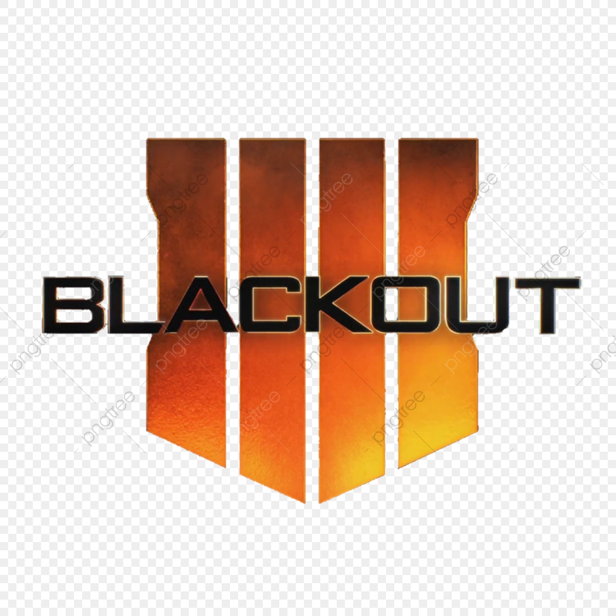 Call Of Duty Black Ops 4 Blackout Logo 736233 Png Images Pngio