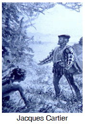 Jacques Cartier Water Route Png - Canada A Country by Consent: New France: Jacques Cartier
