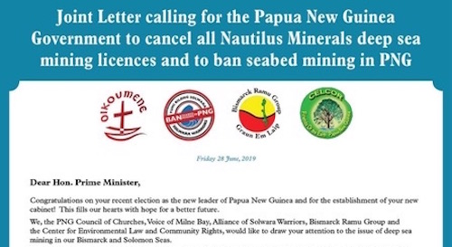 Mining Community Png - Cancel all seabed mining licences   Papua New Guinea Mine Watch