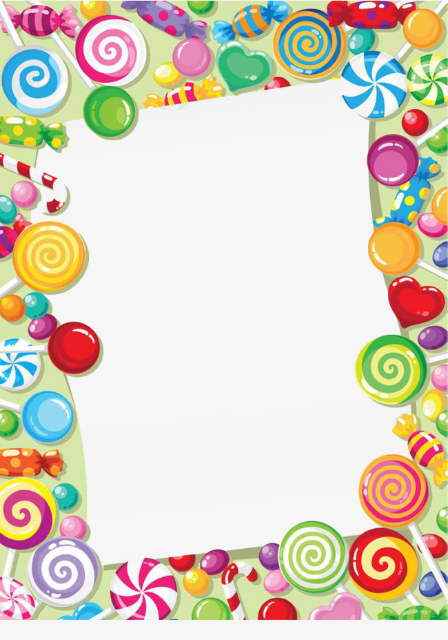 Candy Border - Candy border clipart 5 » Clipart Station