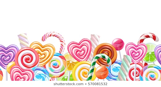 Candy Border - Candy Border Images, Stock Photos & Vectors | Shutterstock