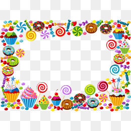 Candy Border - Candy Border PNG Images | Vector and PSD Files | Free Download on ...