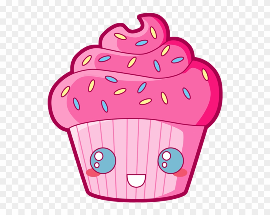 Candy Clipart Kawaii Cupcake Dessin Av 1032876 Png Images Pngio
