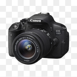 Canon Camera Png - Canon,eos,700d Kit, Product Kind, Camera, Black PNG Image and ...