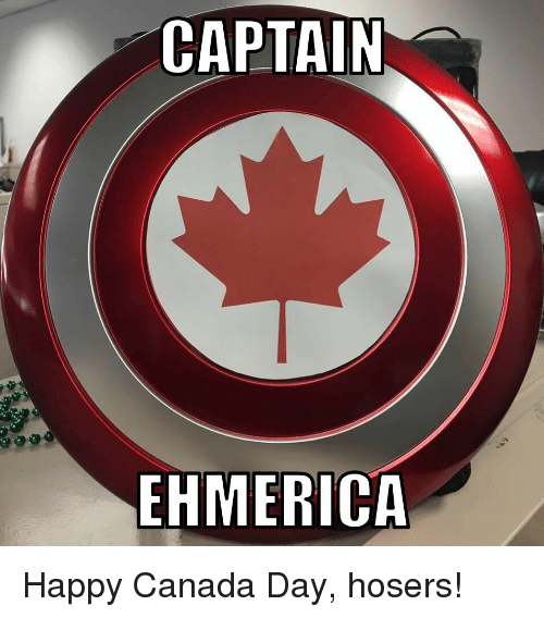 Canada Day Funny Png - CAPTAIN MER Happy Canada Day Hosers! | Funny Meme on ME.ME