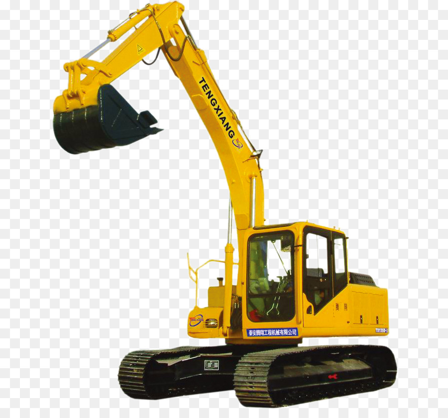 Car Construction Png - Car Machine Excavator - excavator png download - 696*824 - Free ...