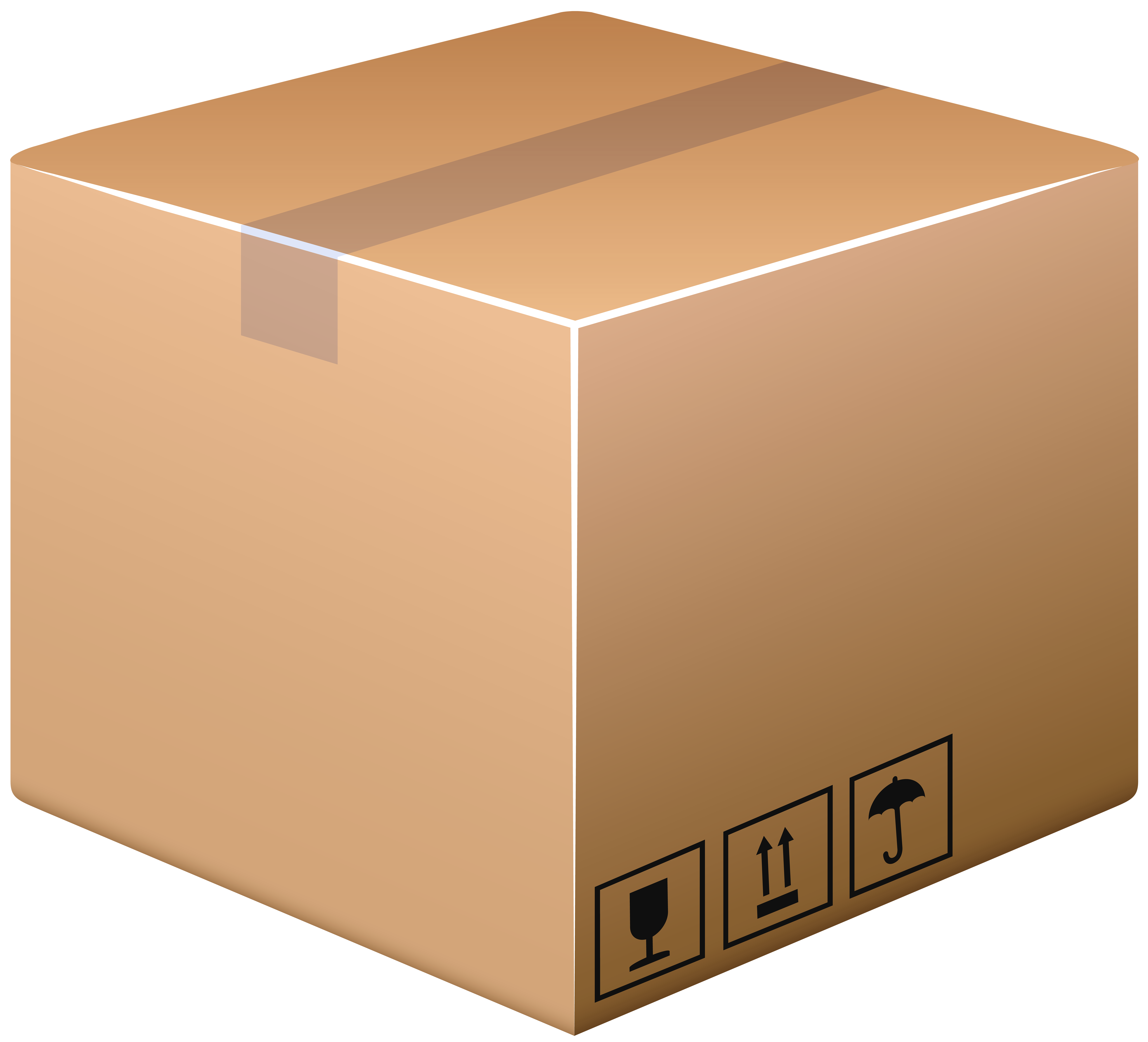 Cardboard Box Home Png - Cardboard Box PNG Clip Art Image - Best WEB Clipart