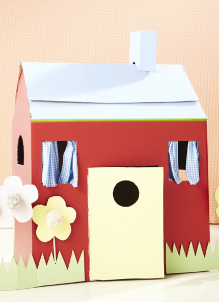 Cardboard Box Home Png - cardboardhouse.png (430×592) (With images) | Cardboard box houses ...