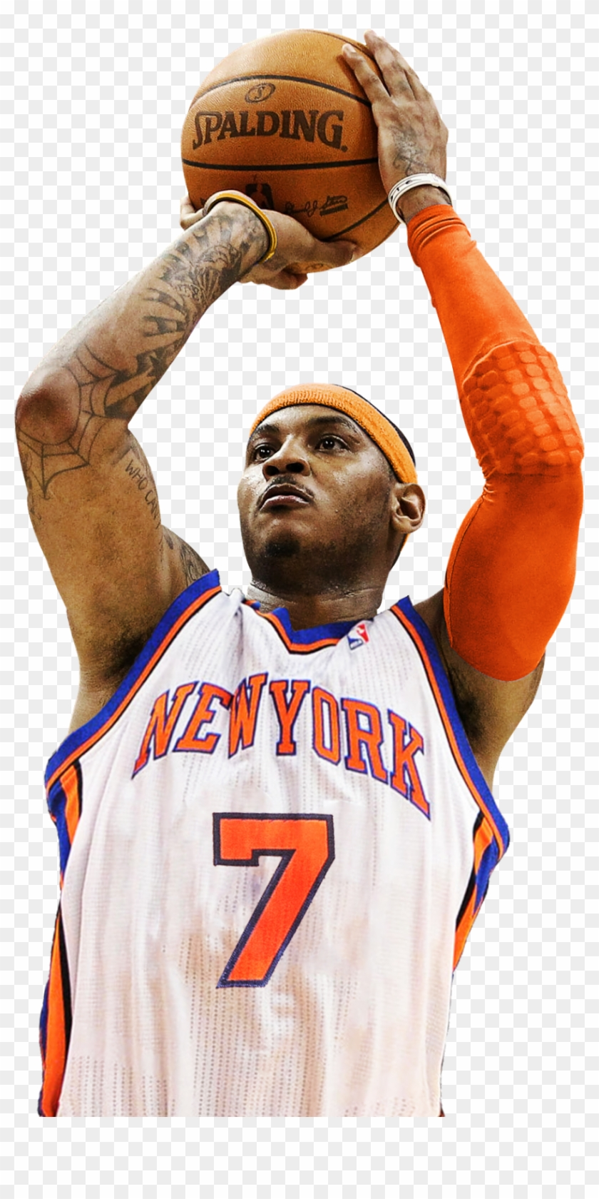 Carmelo Anthony Png Hd - Carmelo Anthony New York Knicks, HD Png Download (#652695), Free ...