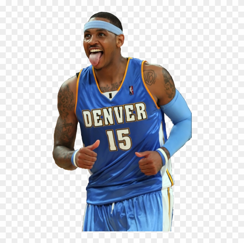 Carmelo Anthony Png Hd - Carmelo Anthony Png Nuggets, Transparent Png - 480x756(#2822143 ...