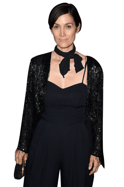 Carrieanne Moss Png - Carrie-Anne Moss on Humans, Electromagnetic Waves, and Coping With ...