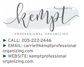 Professional Organizing Png - Carrie Thayer, Kempt Professional Organizing - villagelivingonline.com