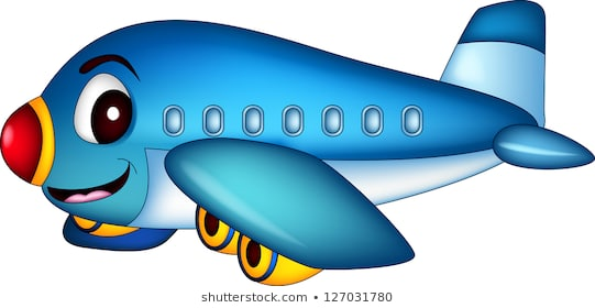 Cartoon Airplane Free Cartoon Airplane Png Transparent Images
