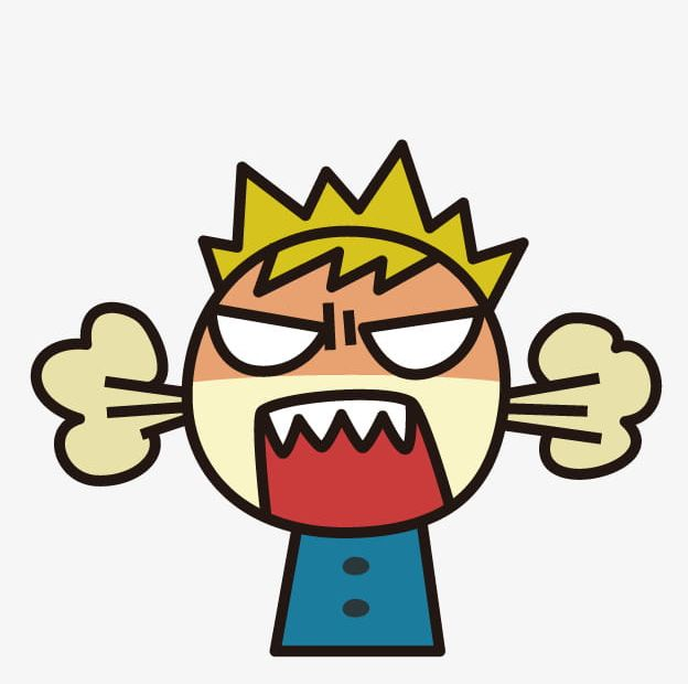Cartoon Angry Boy Png Clipart Angry A 1467857 Png Images Pngio