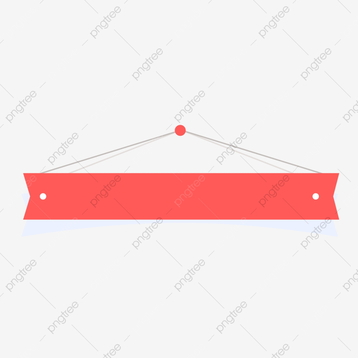 Copywriting Background Png - Cartoon Banner Red Banner Copywriting Background, Cartoon Banner ...