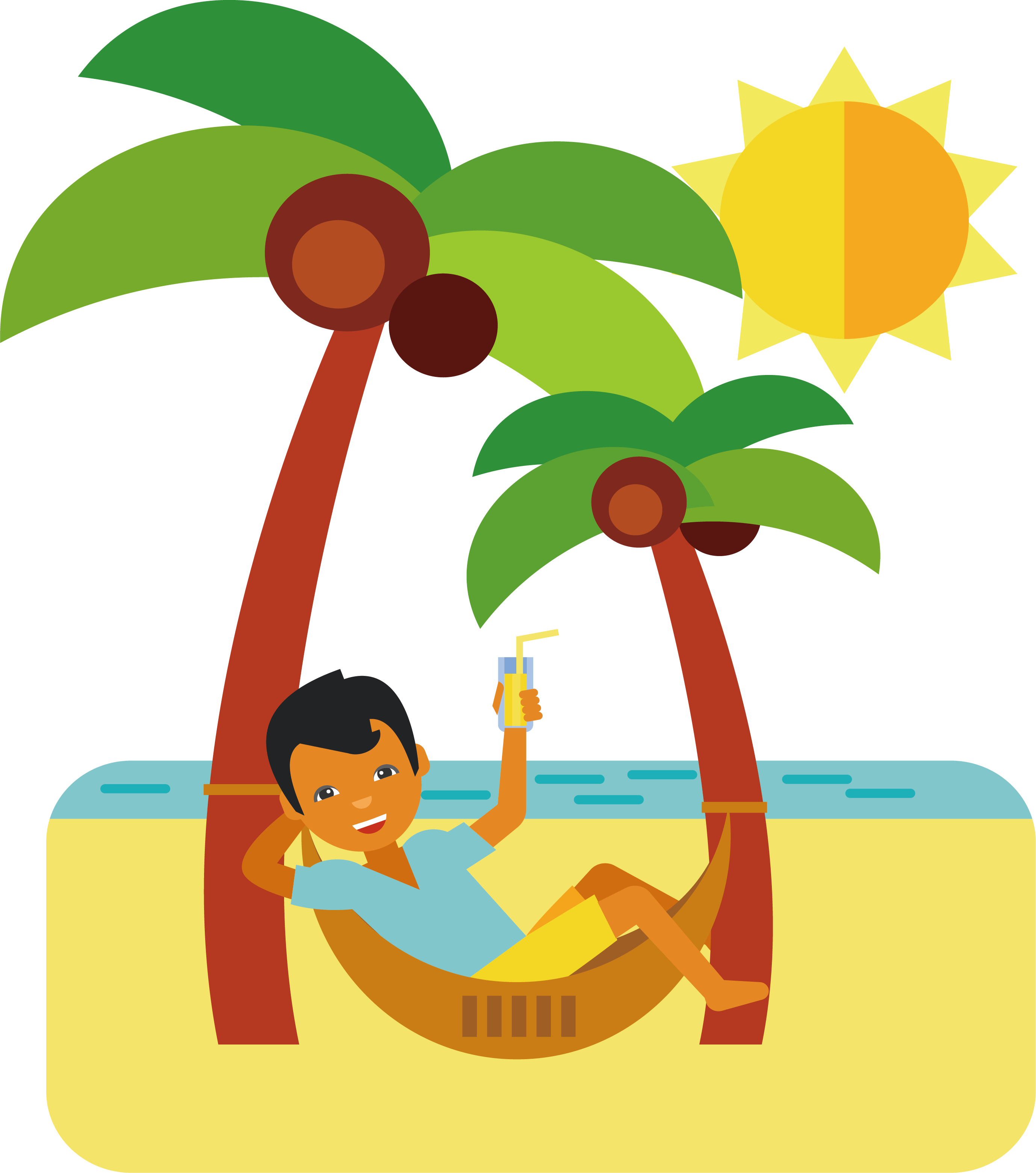Beach Vacation Png & Free Beach Vacation.png Transparent ...