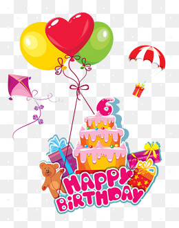 Balloons And Cake Png Amp Free Balloons And Cake Png