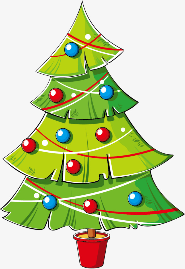 Cartoon Christmas Tree Png - Cartoon Christmas Tree Png, png collections at sccpre.cat