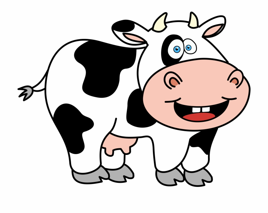 Cartoon Cow Png - Cartoon Cow Funnyw Icons Free And Downloads Png - Cow Clip Art ...