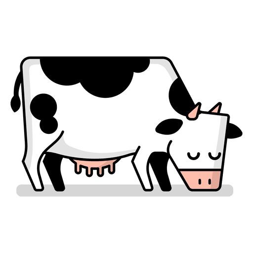 Cartoon Cow Png - cartoon cow Isolatedw cartoon illustration vector download png ...