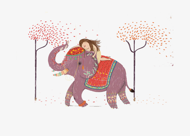 Girl Elephant Png - cartoon elephant and girl, Elephant Clipart, Cartoon Clipart, Elephant PNG  Image and Clipart
