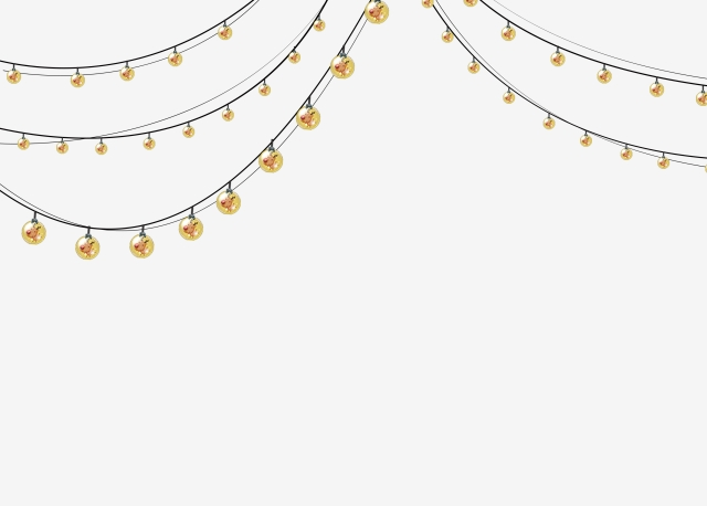 Fairy Light Png - Cartoon Fairy Lights, Cartoon Clipart, H5 Material PNG Image and ...