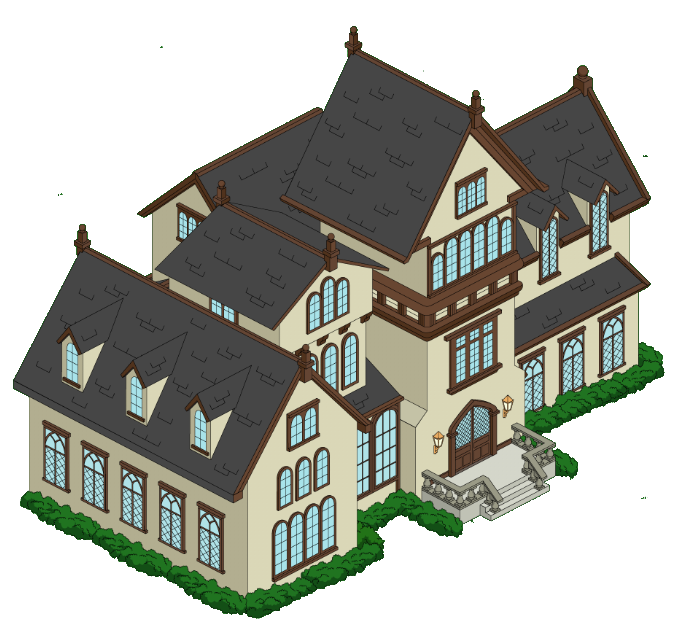 Mansion Family Png - Cartoon Mansion Transparent & PNG Clipart Free Download - YWD