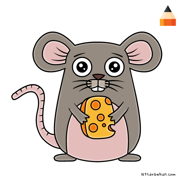 Cartoon Mousehow To Draw A Mouse 81116 Png Images Pngio