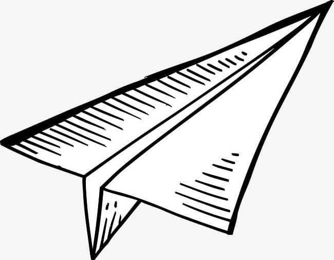 Cartoon Paper Airplane Png Clipart Air 1425450 Png Images Pngio