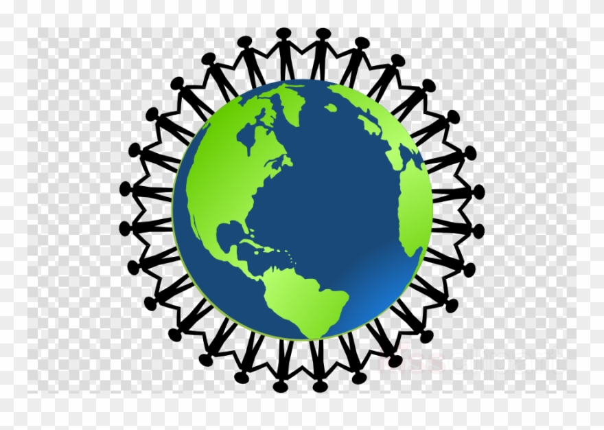 Circle Of People Holding Hands Png - Cartoon People Holding Hands Clipart Earth - Ring Around The World ...