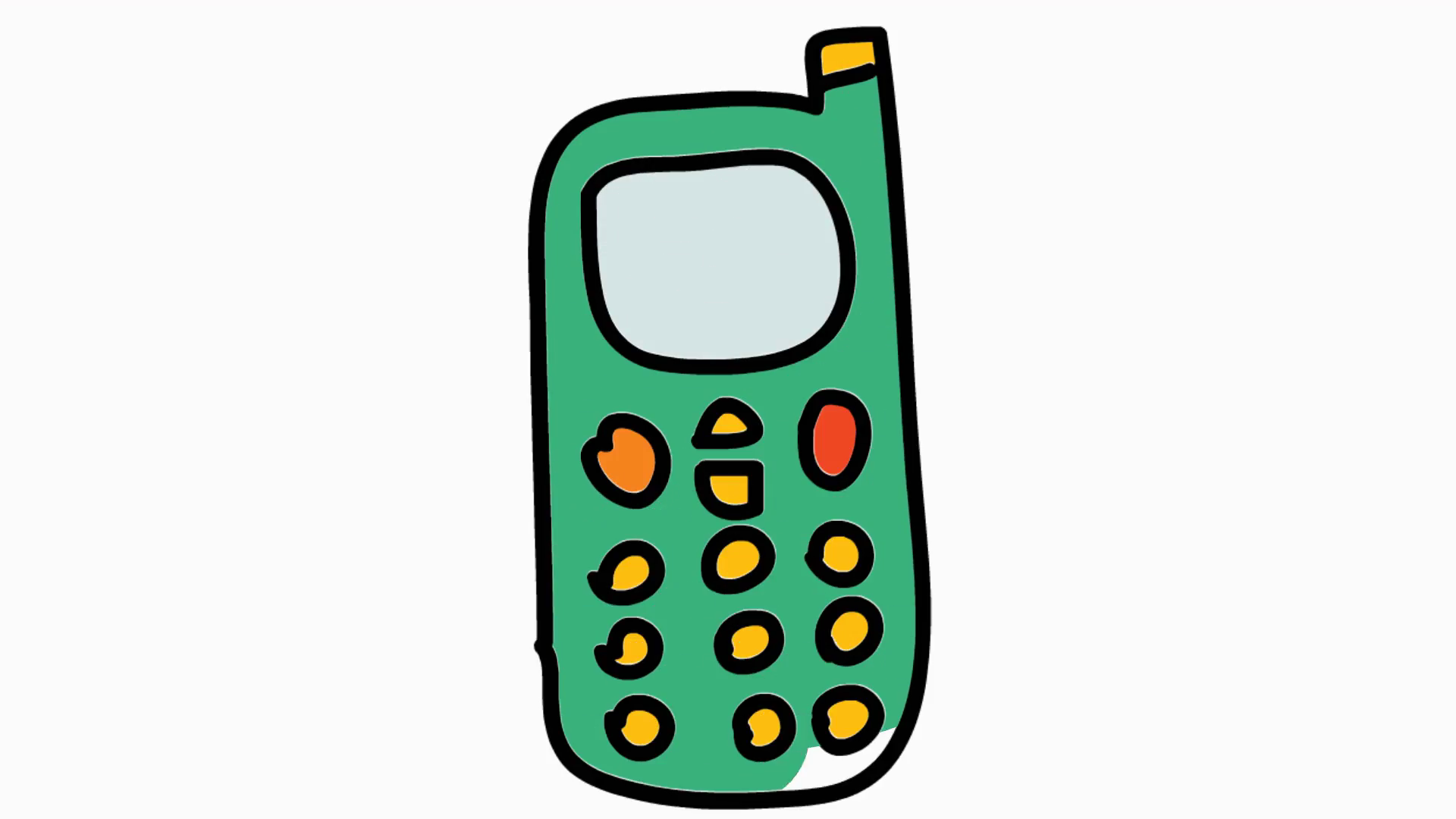 Cartoon Pictures Of Cell Phones Free D 919205 Png Images Pngio
