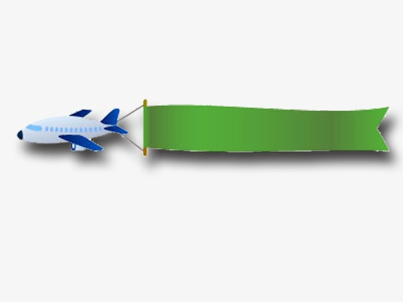 Cartoon Plane Pulling Banner Plane Clip 65852 Png Images Pngio