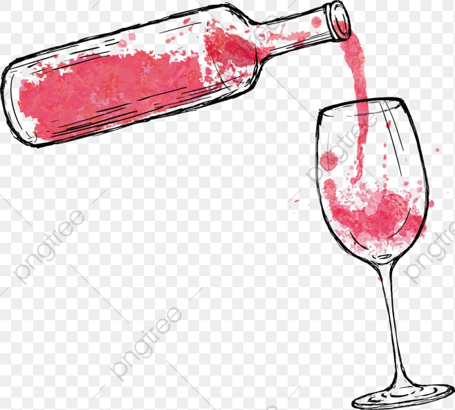 Cartoon Red Wine Cartoon Clipart Wine 752292 Png Images Pngio
