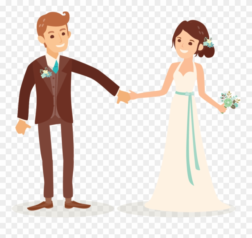 Cartoon Wedding Couple Png Clipart 226 1638309 Png Images Pngio