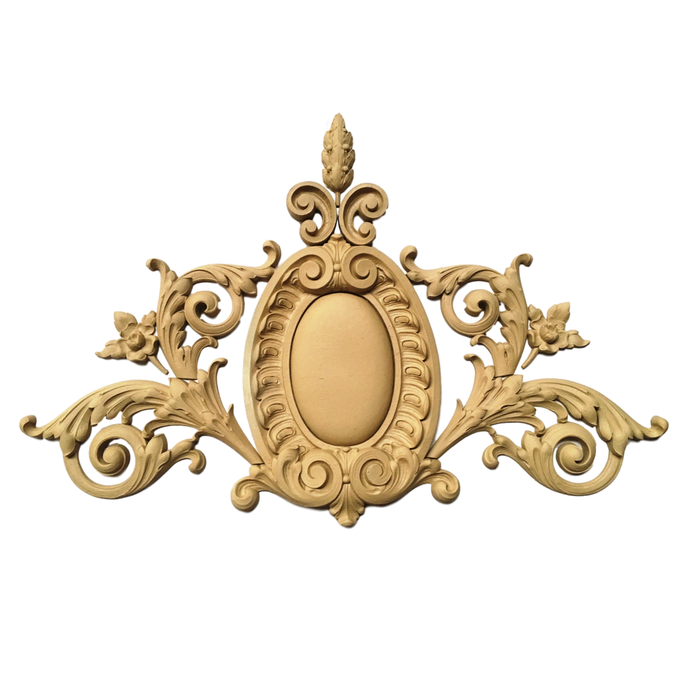 """French Renaissance Png - Cartouche French Renaissance 37"""" Wide x 24"""" H - Offered In Stain & Pai"""