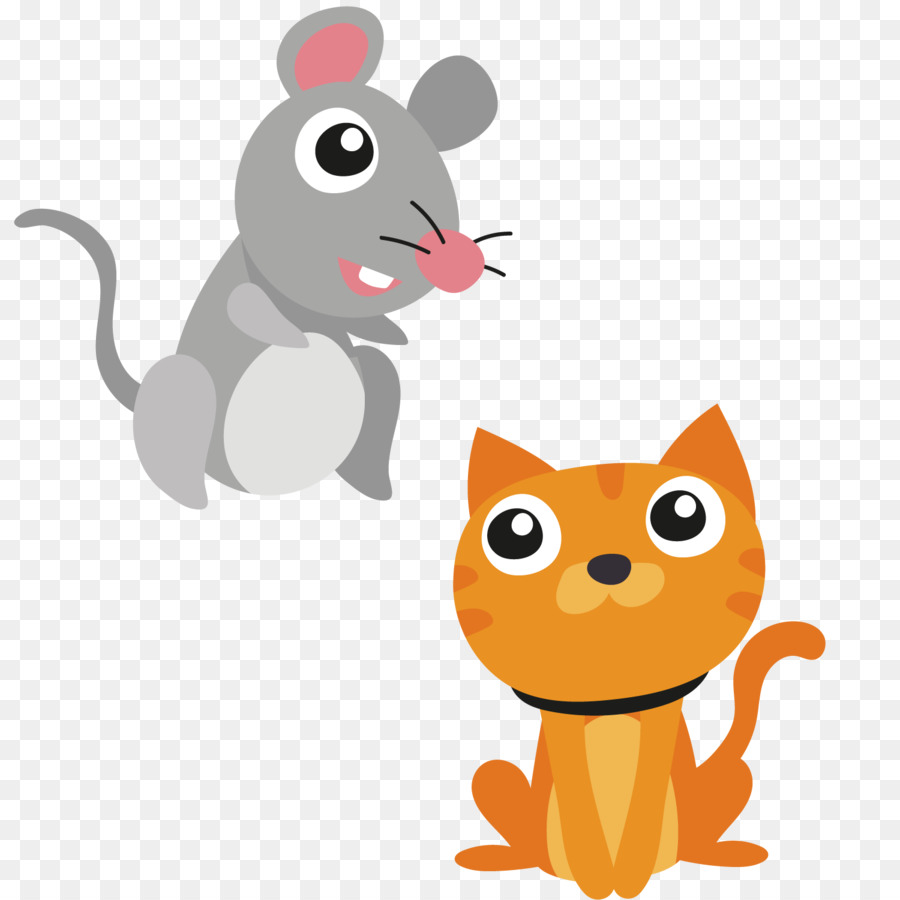 Rat And Cat Png - Cat Whiskers Mouse Kitten Dog - Rats and cats