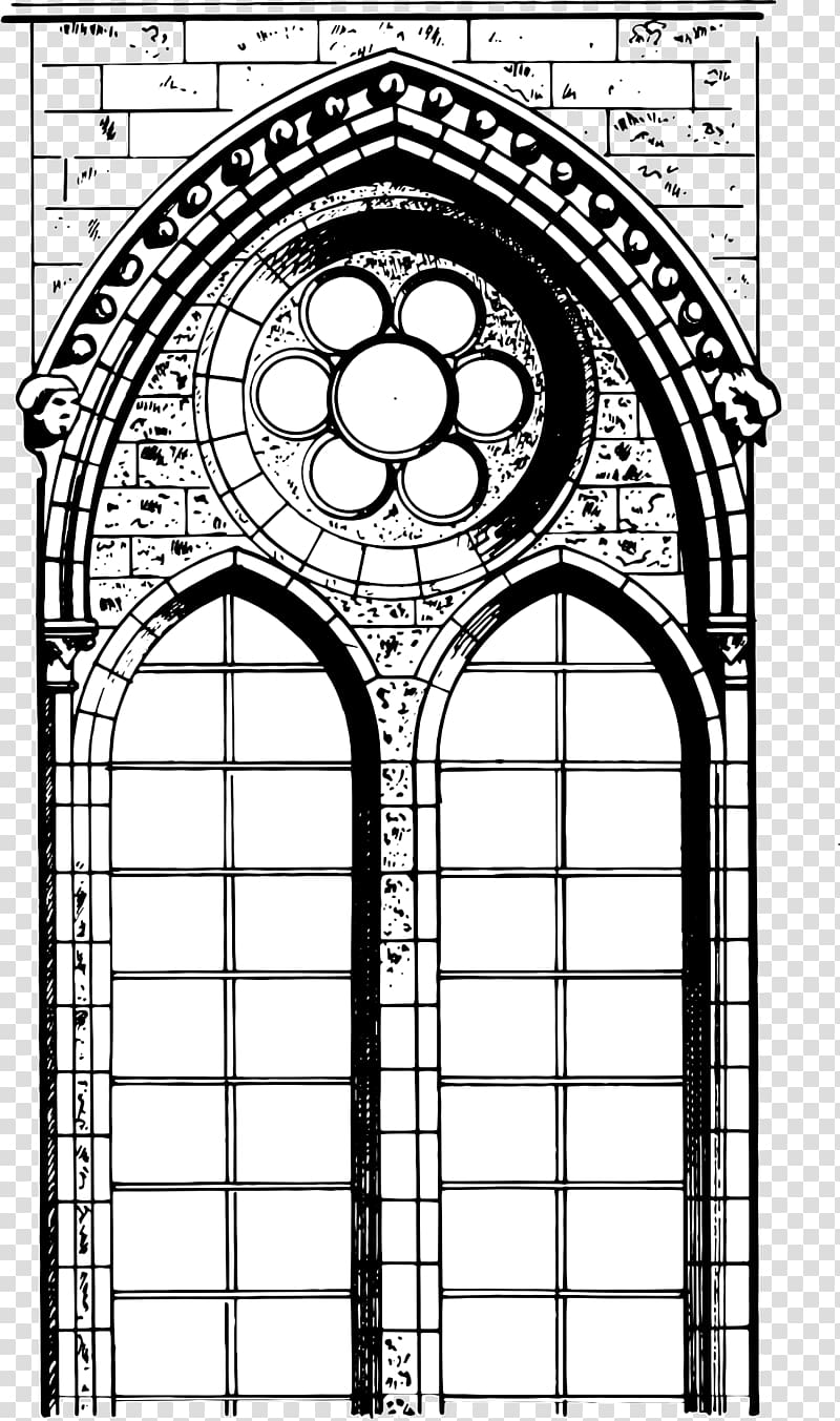 Cathedral Window Png - Cathedral architecture Drawing Gothic architecture, architecture ...