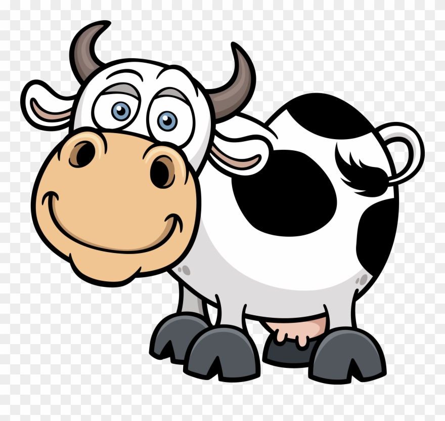 Cartoon Cow Png - Cattle Cartoon Royalty Transprent Png Royaltyfree - Cartoon Cow ...