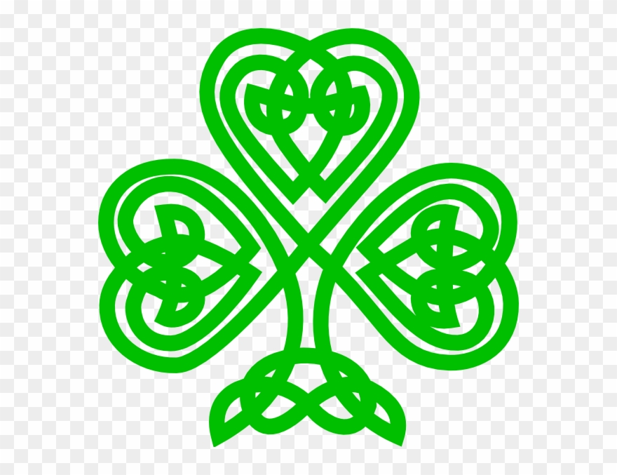 Celtic Knot Shamrock Png - Celtic Knot Shamrock Clipart - Png Download (#141980) - PinClipart