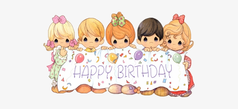 Precious Moments Birthday Png - Ch - B *✿* - Precious Moments Birthday Wishes - 523x295 PNG ...