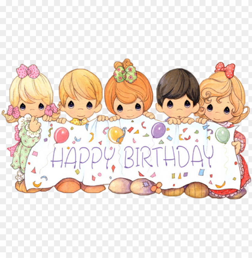 Precious Moments Birthday Png - ch - b *✿* - precious moments birthday wishes PNG image with ...