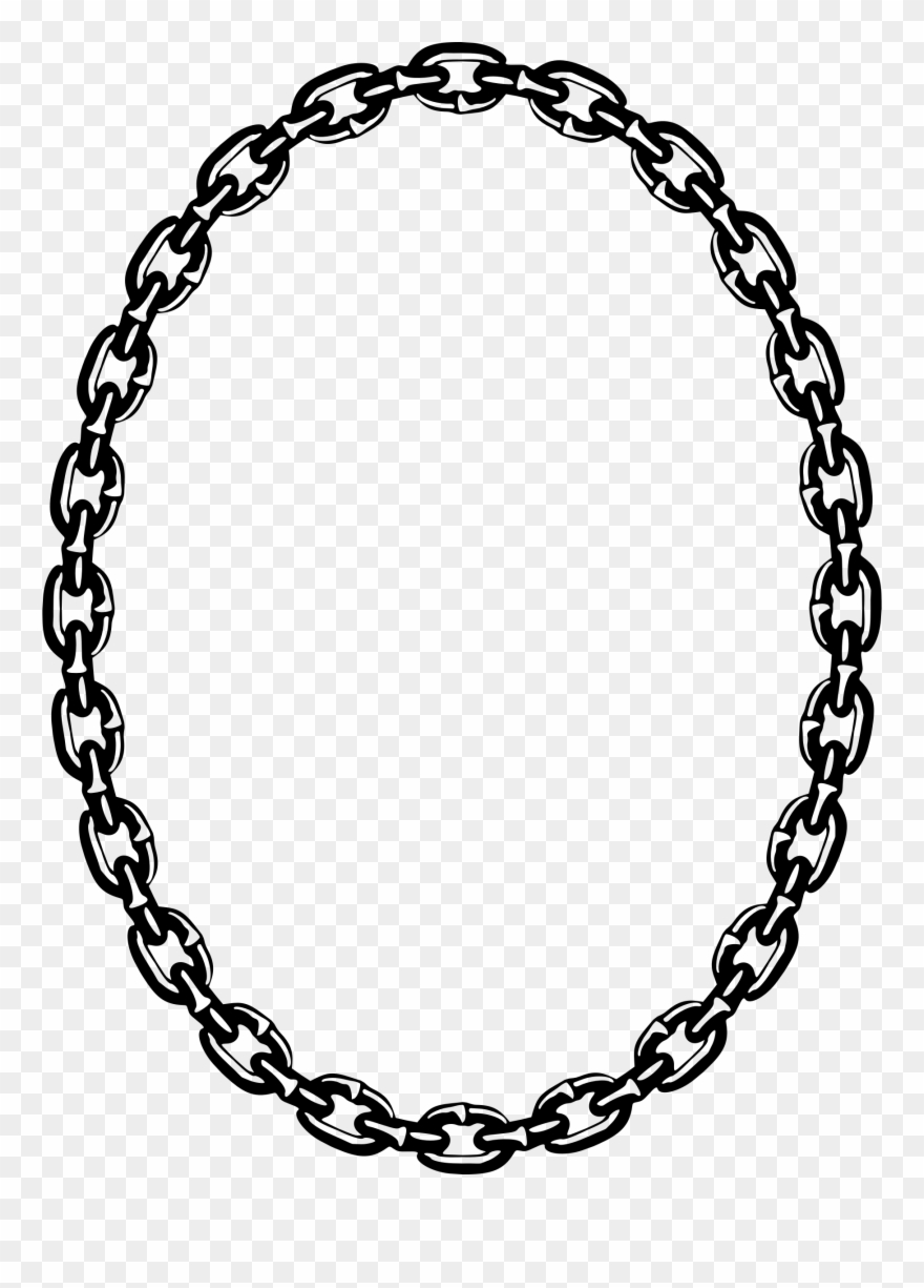 Circle Chain Png - Chain Frame 3 By Firkin Canadian Forest, Cheese, Clip - Chain ...