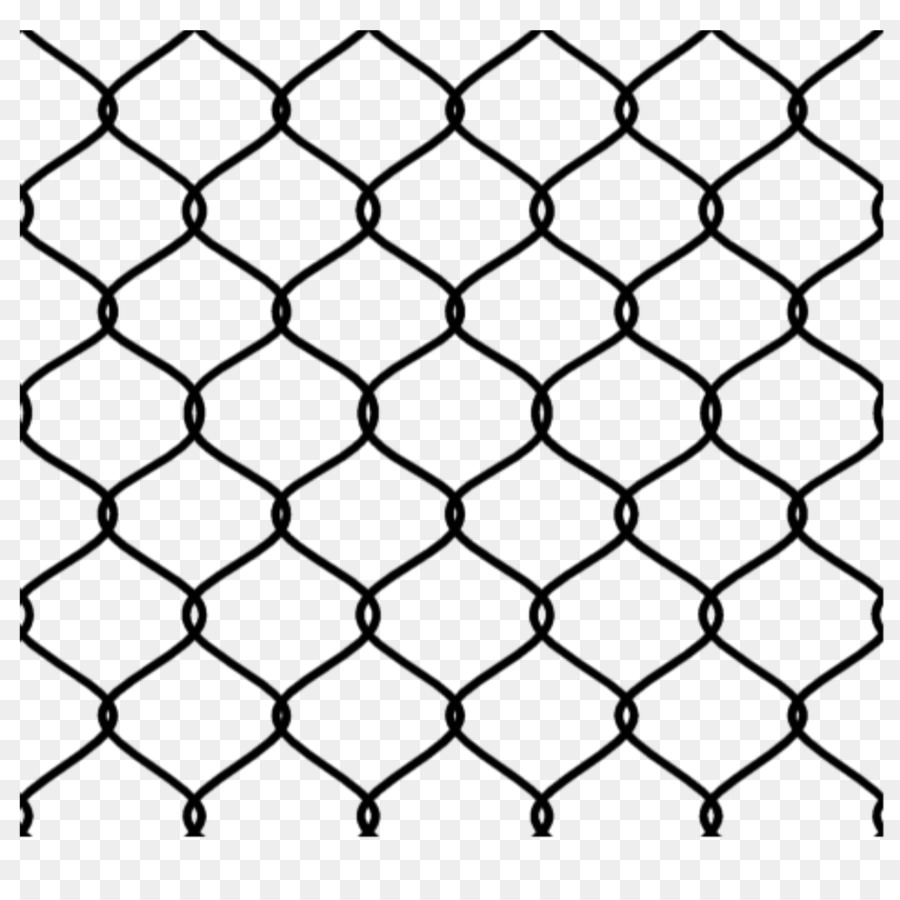 Metal Fence Png - Chain-link Fencing Wire Mesh Fence Metal #522215 - PNG Images - PNGio