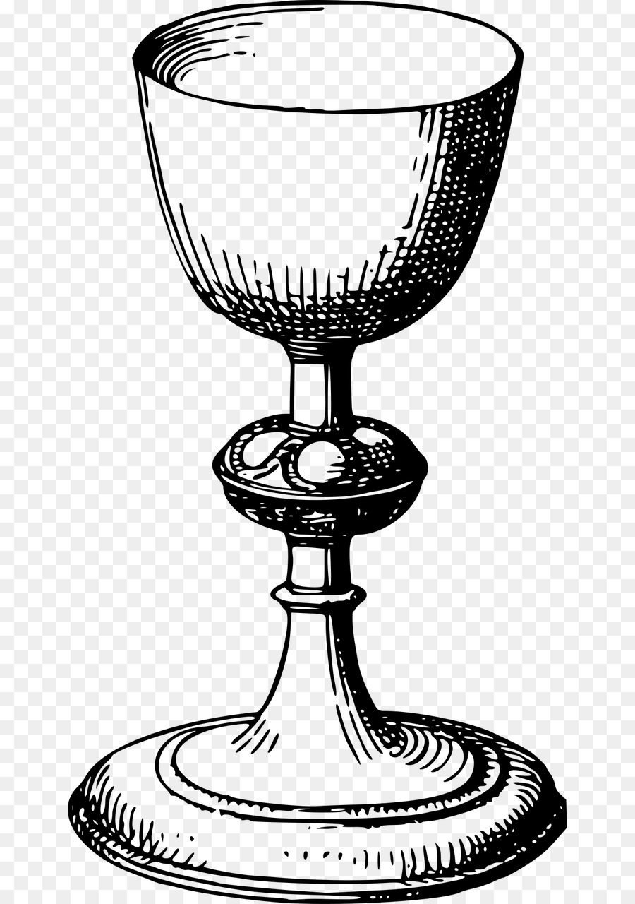 Eucharist Png Black And White - Chalice Eucharist Clip art - Vector Goblet png download - 708*1280 ...