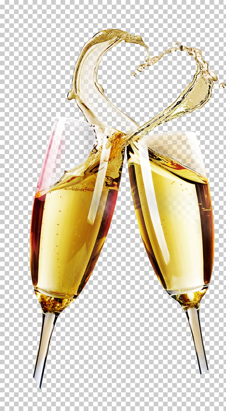Glasses Illustration Png - Champagne glass Wine glass Cup, Champagne, two clear wine glasses ...