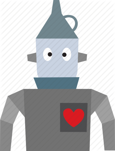 Friendly Wizard Png - Character, friendly, heart, oz, robot, tinman, wizard icon