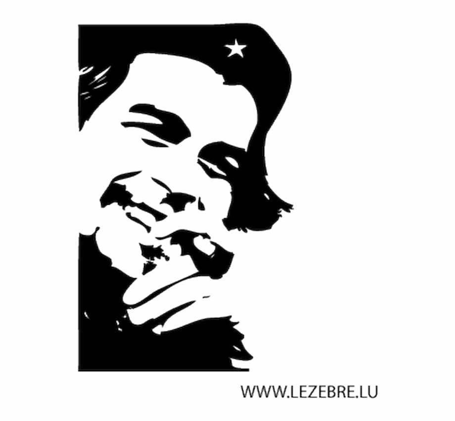 Che Guevara Pngs Hd - Che Guevara Smoking Hd , Png Download - Che Guevara Poster Black ...