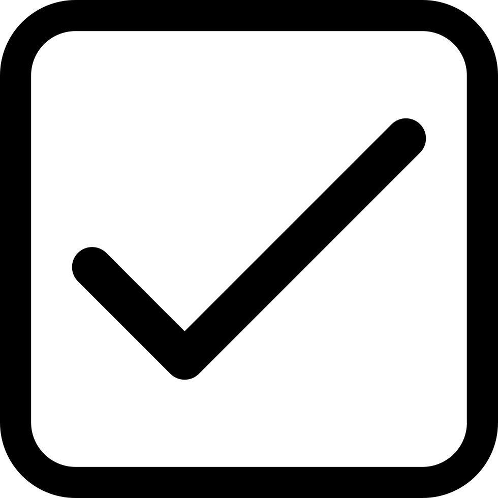 Checkbox Png - CheckBox Svg Png Icon Free Download (#358129) - OnlineWebFonts.COM