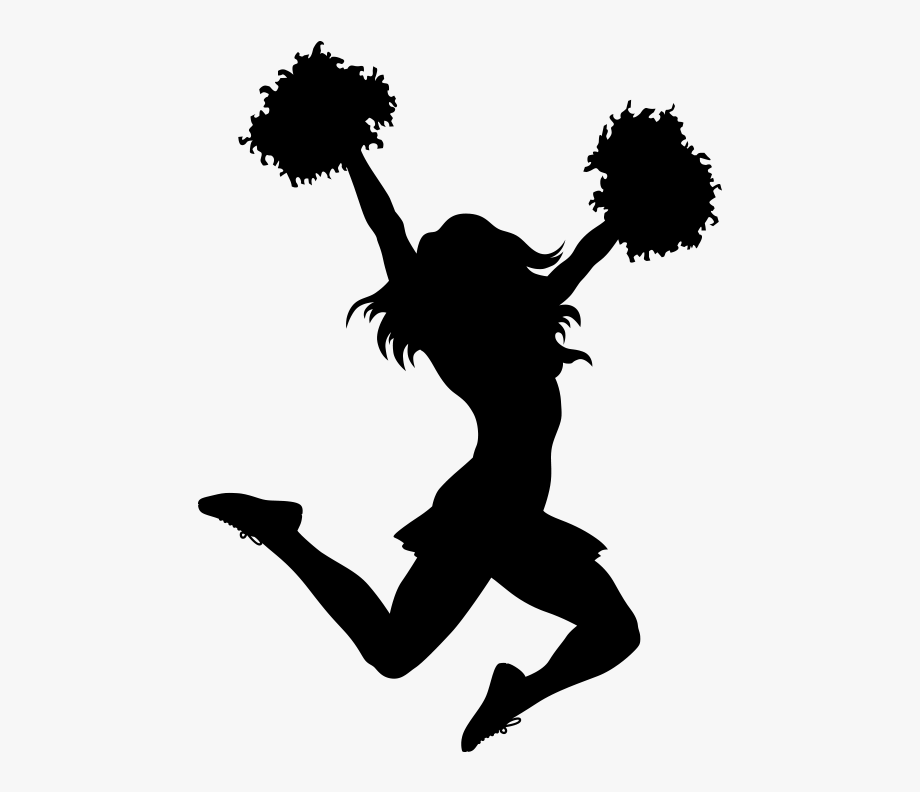 Cheerleading Clipart - Blue And Gold Cheerleader Clipart - 300x422 PNG  Download - PNGkit